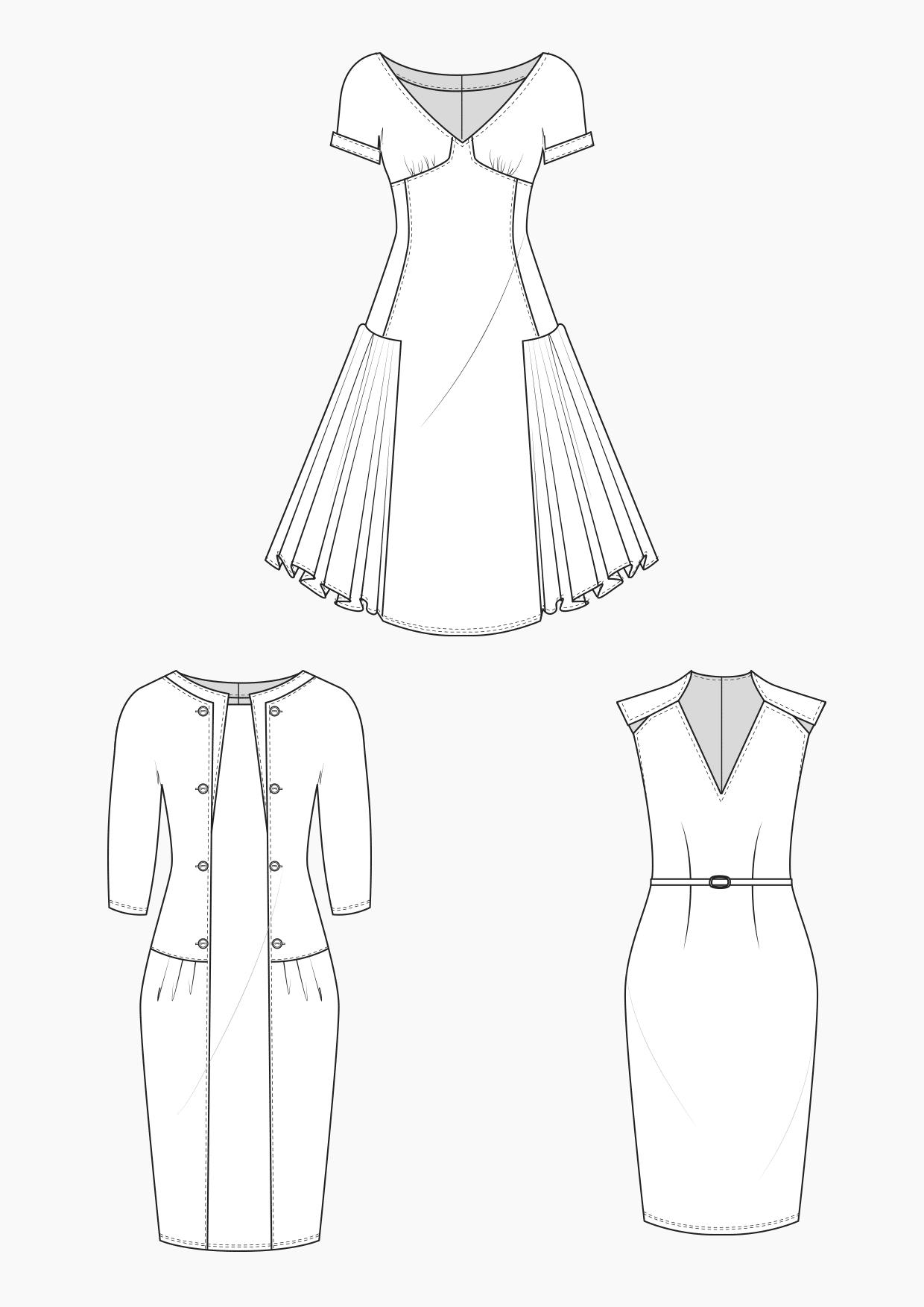 Produkt: Schnitt-Technik Kleider im Retro-Look