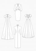 Produkt: PDF-Download: Schnitt-Technik Brautkleider