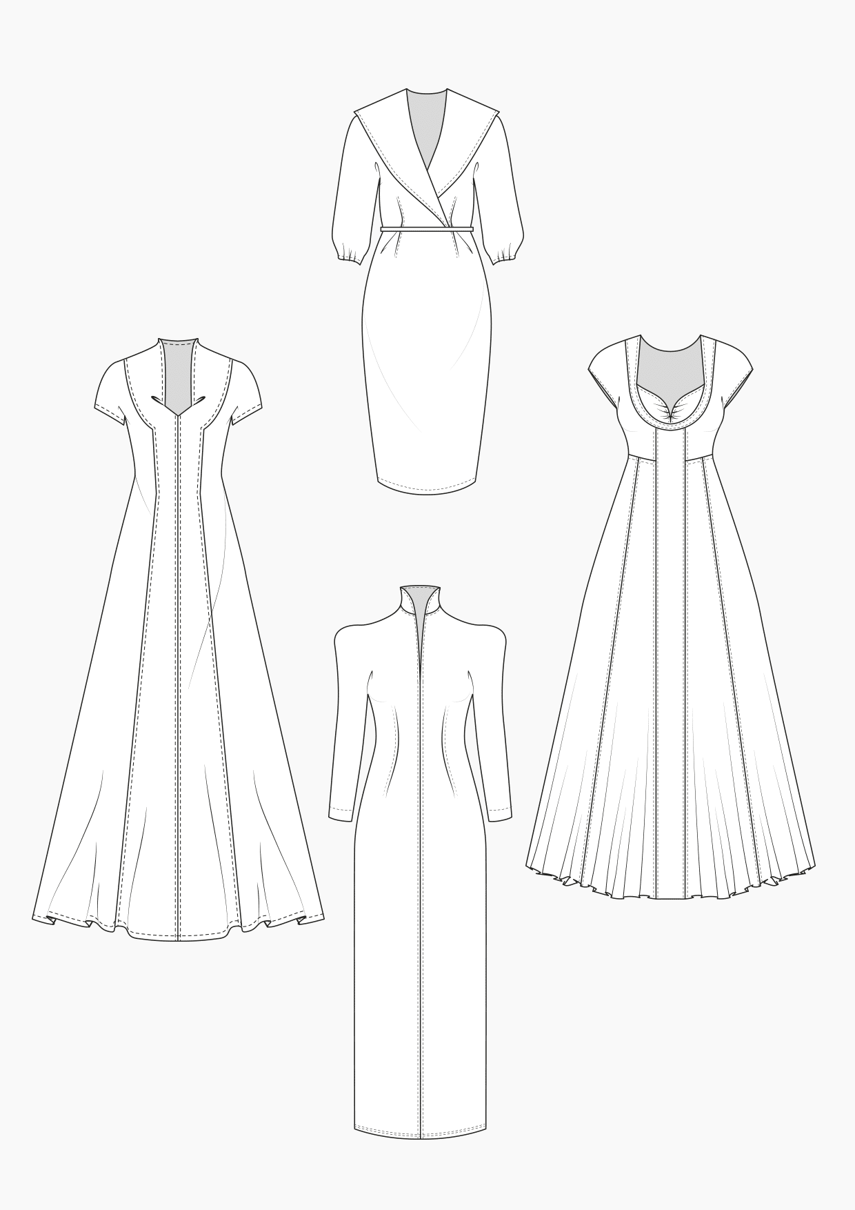 Produkt: Schnitt-Technik Brautkleider 1