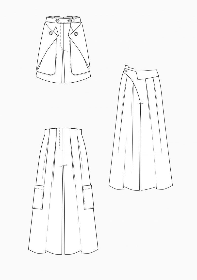 Produkt: Schnitt-Technik Hosenröcke