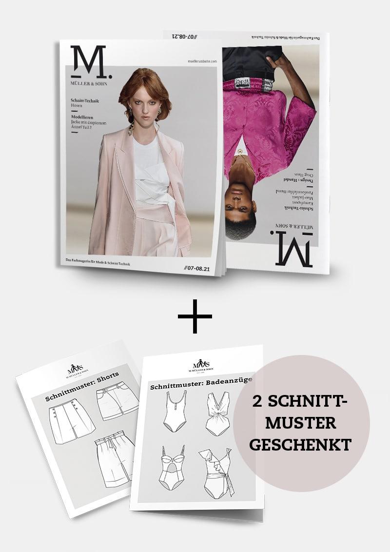 Produkt: Sommeraktion: Jahres-Abo + zwei Schnittmuster geschenkt