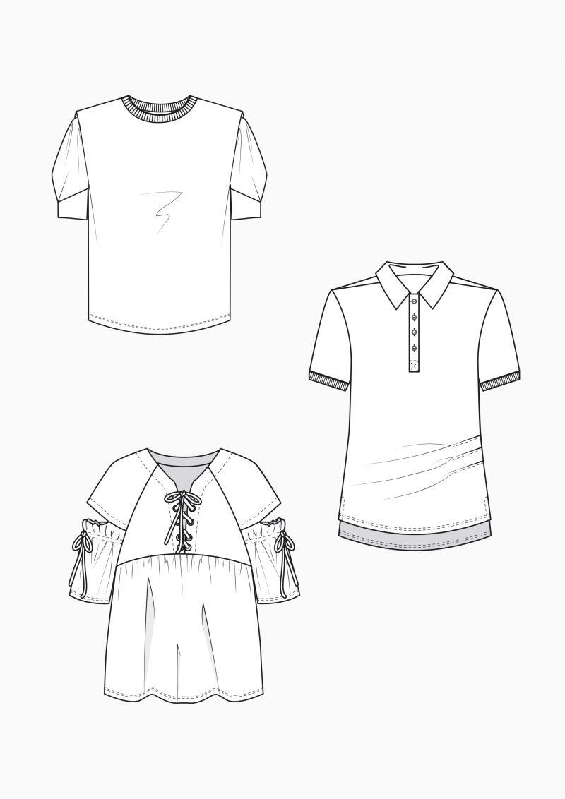 Produkt: Schnitt-Technik T-Shirts