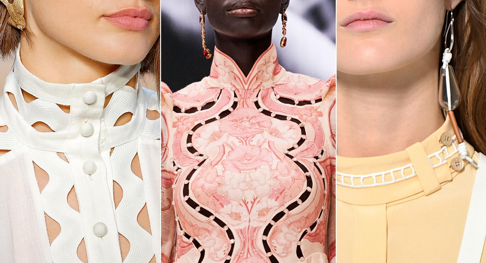 Stehkragen bei Zimmermann und Hermès