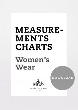 Product: Download Women Measurement Charts
