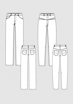 Product: Pattern Jeans