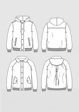 Product: Pattern blouson jacket for children