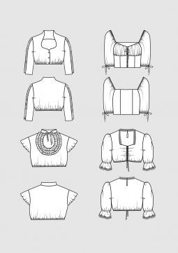 Product: Pattern Dirndl blouses
