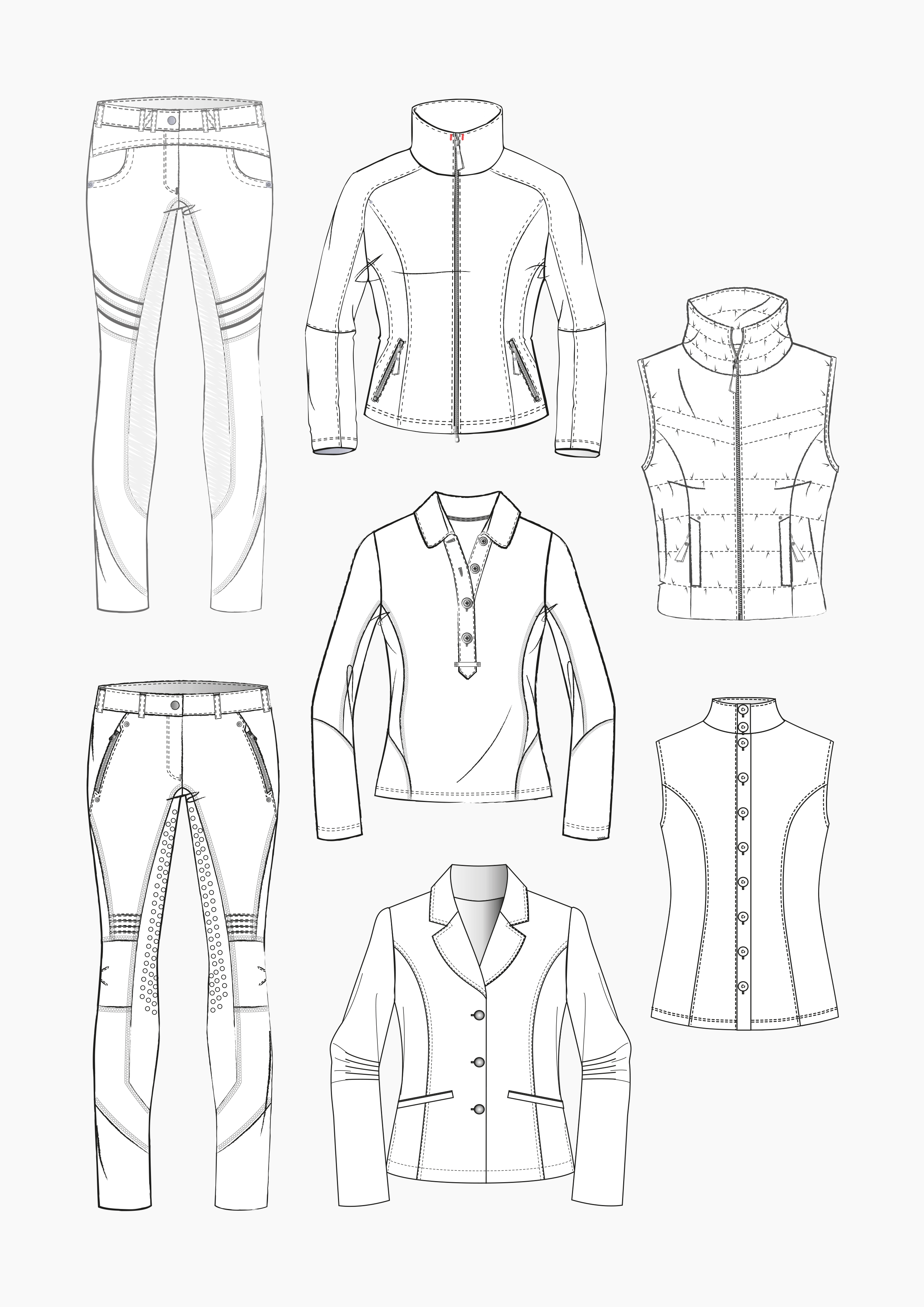 Product: Pattern Making Equestrian Apparel – Part 2