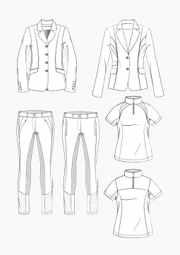 Product: Download Pattern Construction Women: Equestrian Apparel 1