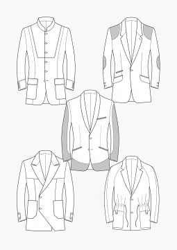 Product: PDF Download: Pattern Making Suit Jackets for Men