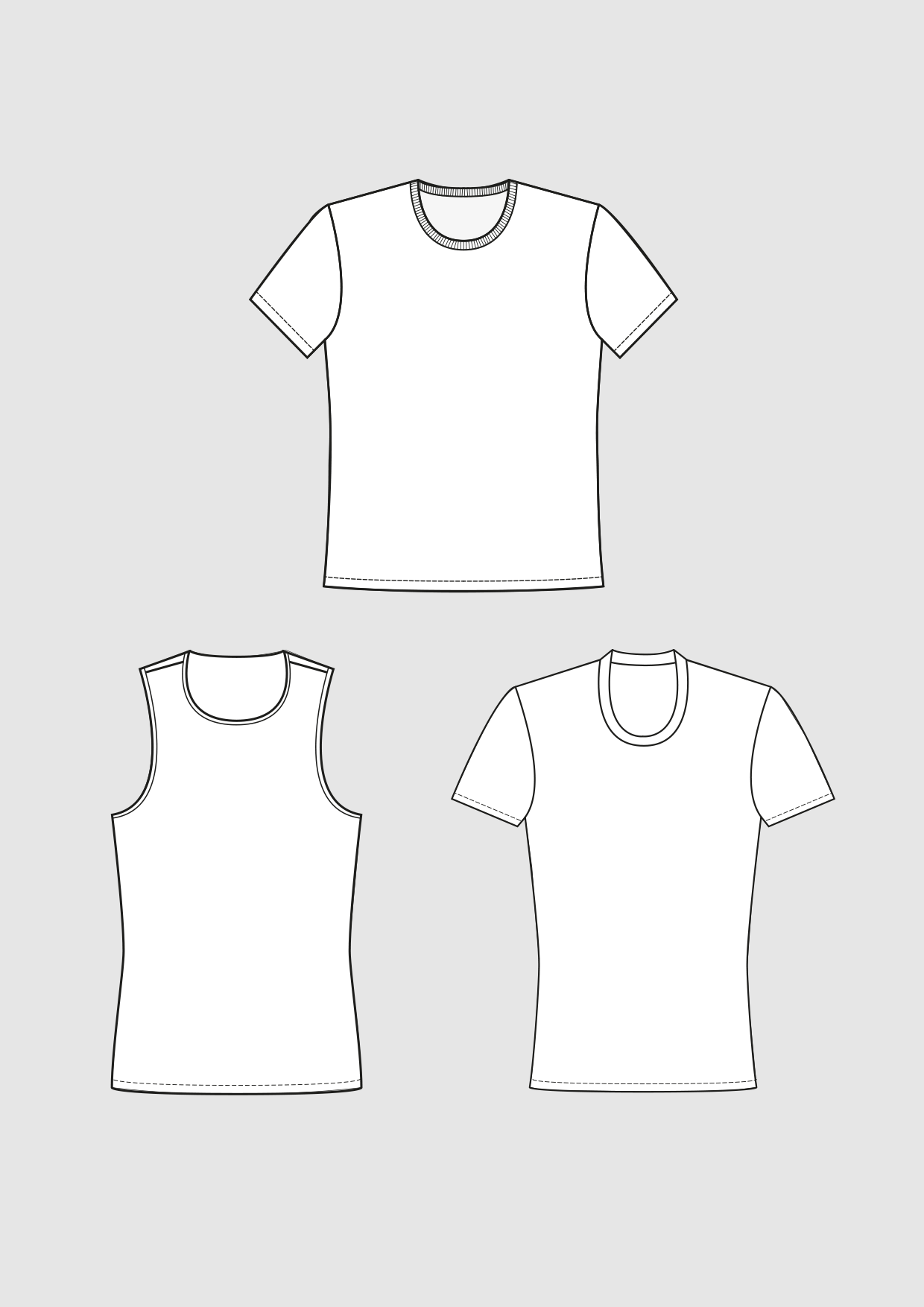Product: Pattern Basic Shirt and Top Block
