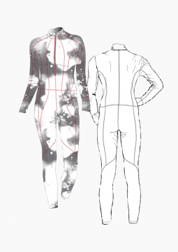 Product: Download Pattern Construction Women: Cross Country Skiing Suit