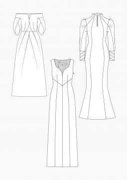 Product: PDF Download: Pattern Making Wedding Dresses 2