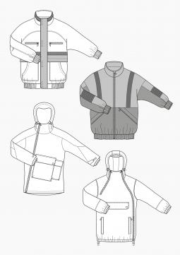 Product: Download Pattern Construction Men: WindbreakerJackets