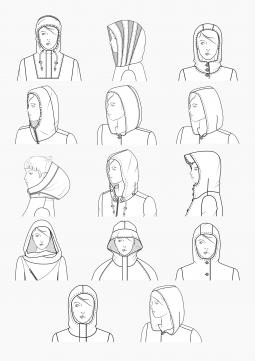 Product: PDF Download: Pattern Making Hoods