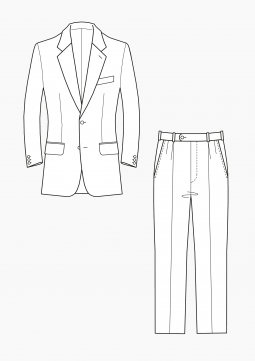 Product: PDF Download: Pattern Making Grading Jacket and Trousers