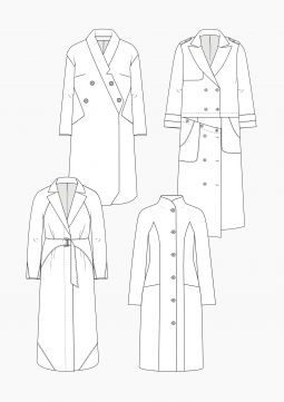 Product: Download Pattern Construction Women: Coats