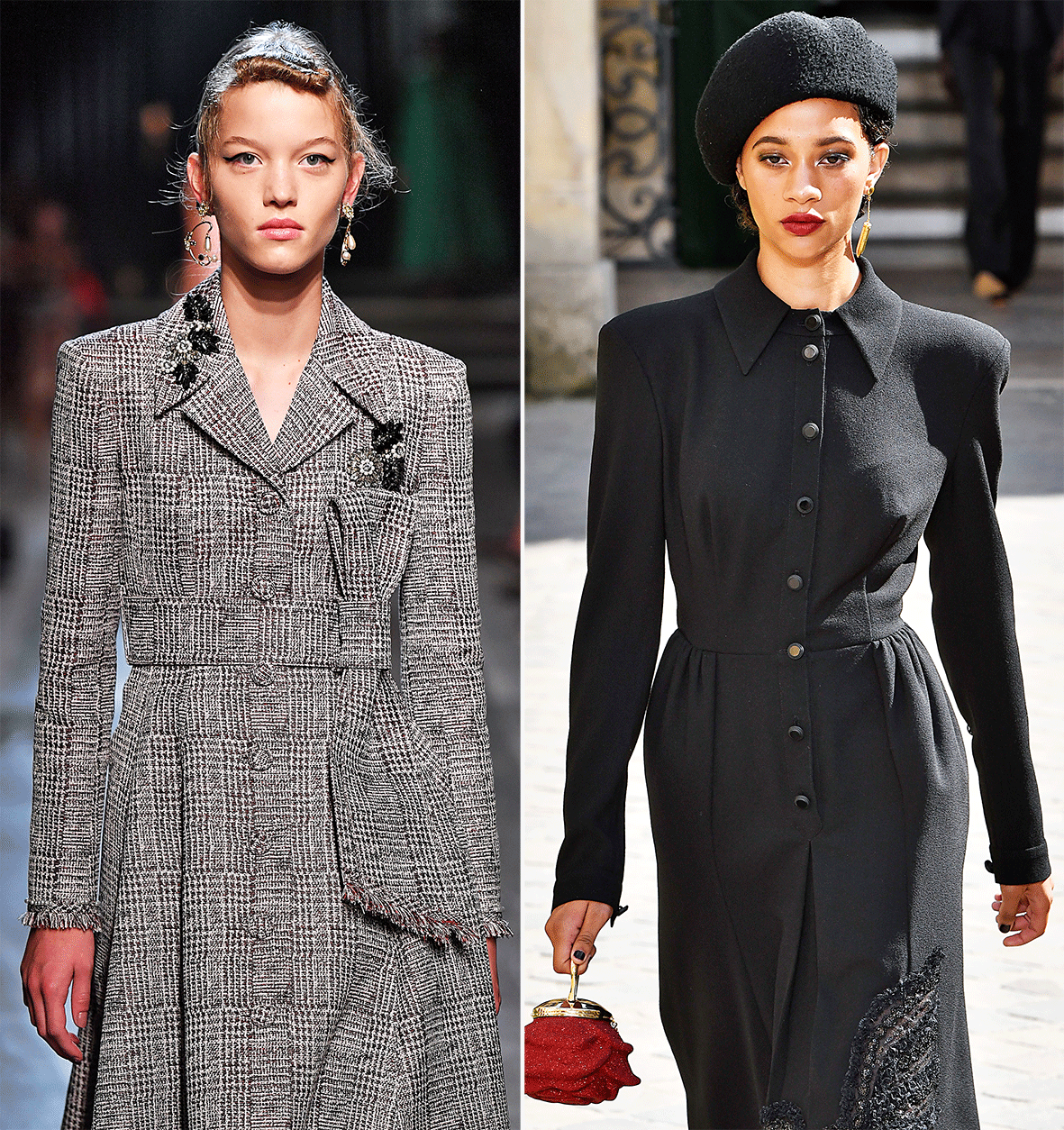 Coat Dresses in Vintage Style