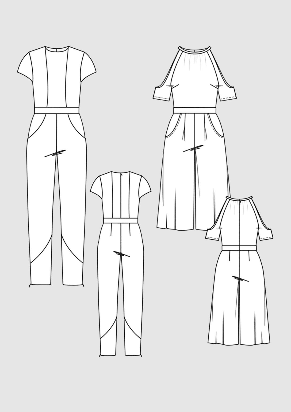 Product: Pattern Overalls
