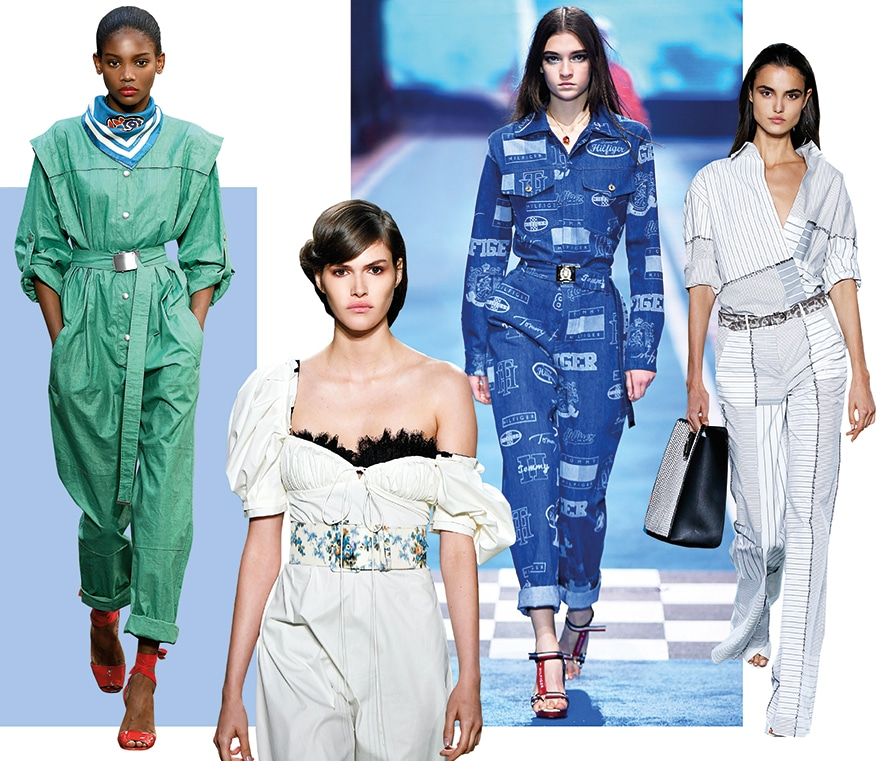 Jumpsuits on the Runway