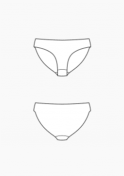 Product: Download Pattern Construction Women: Basic Blocks for Briefs