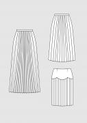 Product: Schnittmuster DOB Plisseerock und Faltenrock