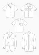 Product: Download Pattern Construction Men: Collar Variations for Suit Jackets and Shirts