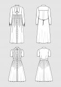 Product: Schnittmuster DOB Hemdblusenkleider