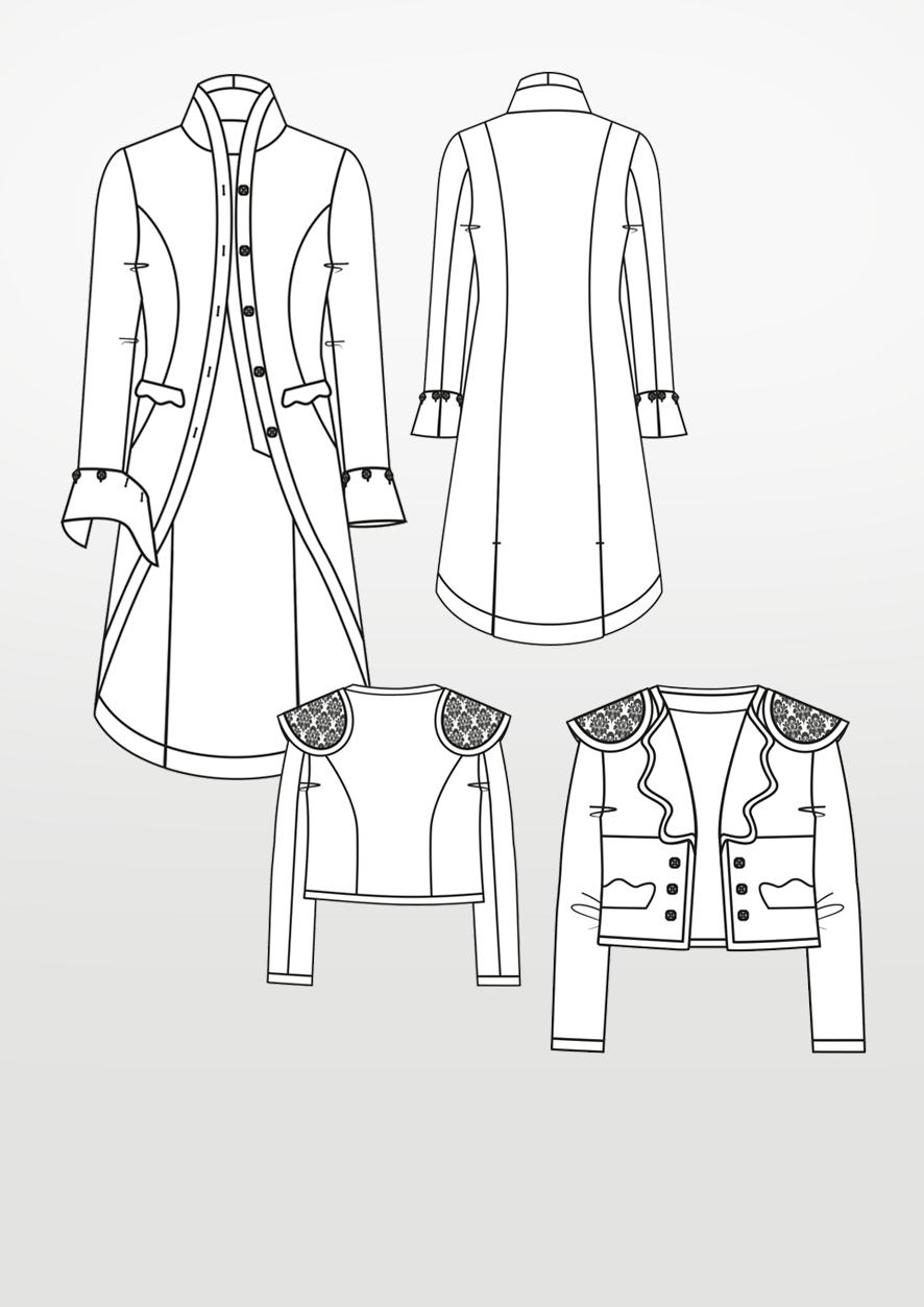 Product: Pattern Matador Jacket & Justaucorps
