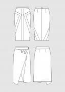 Product: Schnittmuster DOB Bleistiftröcke 1