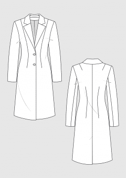 Product: Schnittmuster DOB Grundschnitt taillierter Mantel
