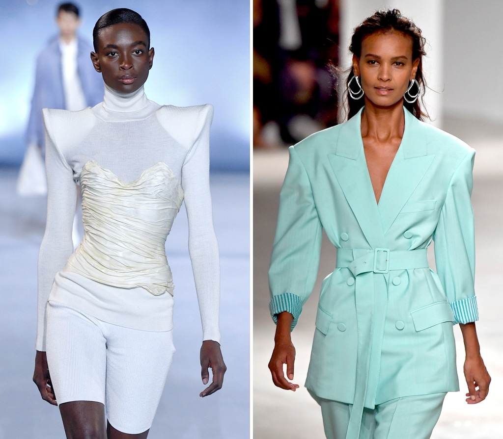 Fashion with Shoulderpads