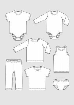 Product: PDF Download: Pattern Baby Clothing