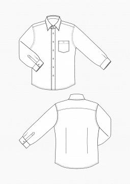 Product: Download Pattern Making Men Grading Dress Shirt for Men