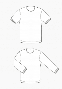 Product: Download Pattern Making Men Grading T-Shirt for Men