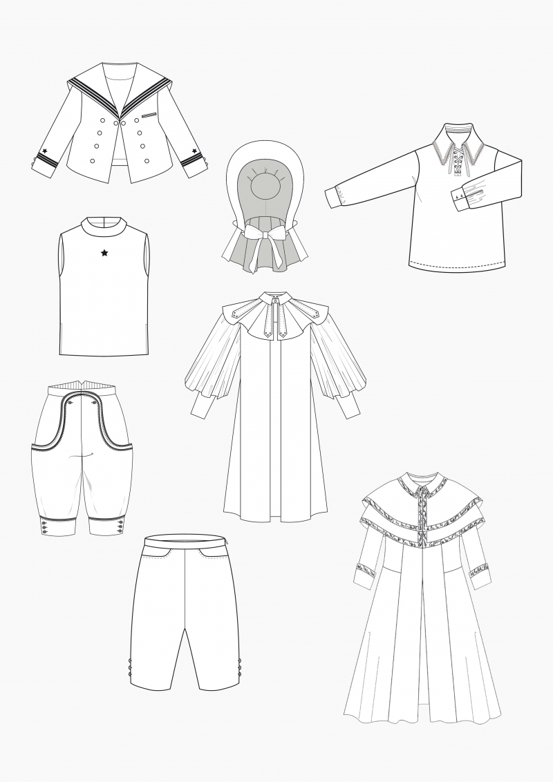 Product: Pattern Making Historical Children's Clothing