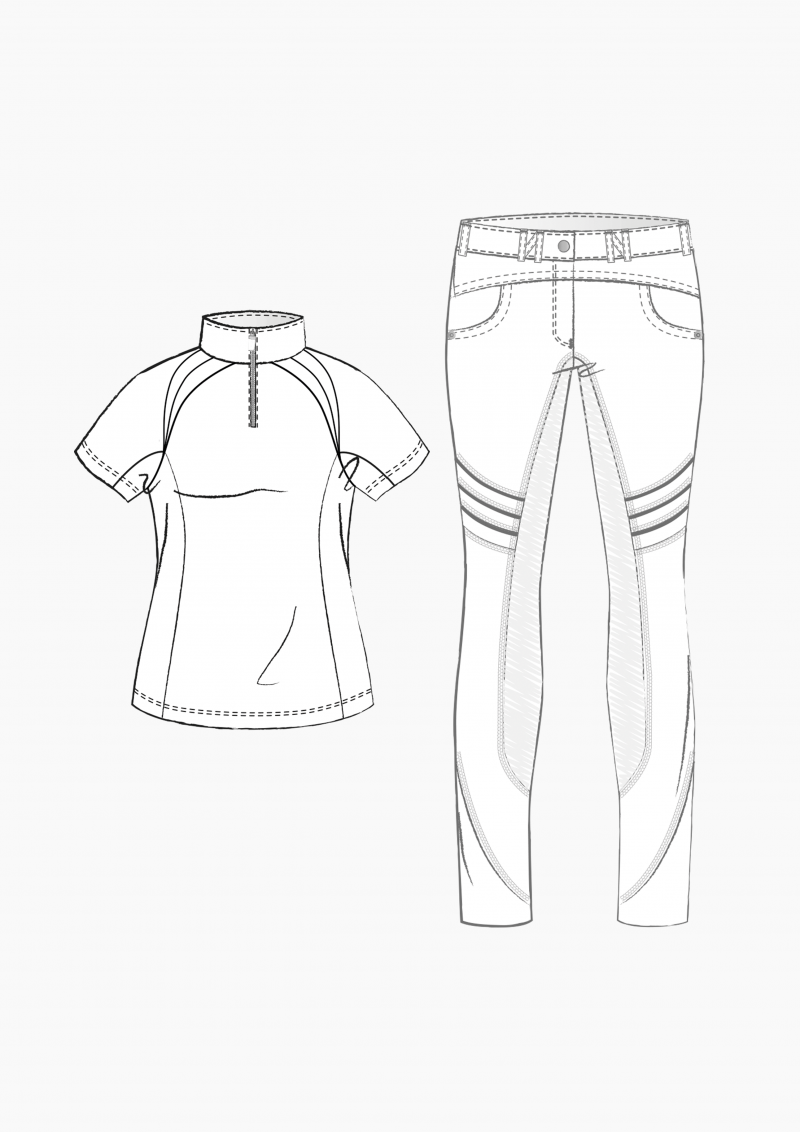 Product: Pattern Making Equestrian Apparel – Part 3