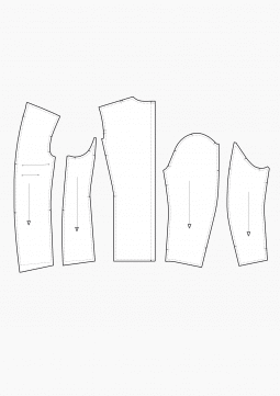 Product: PDF Download: Pattern Making Basics of the Lining Construction