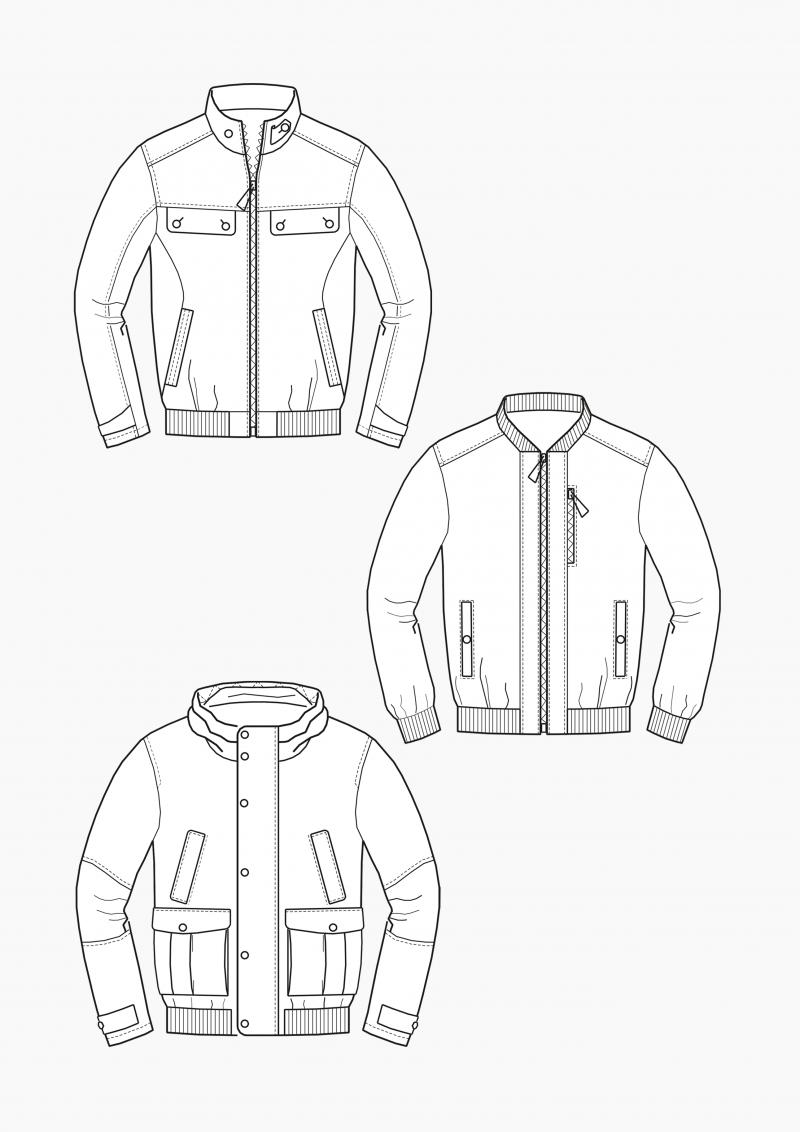 Product: Pattern Making Bomber Jackets