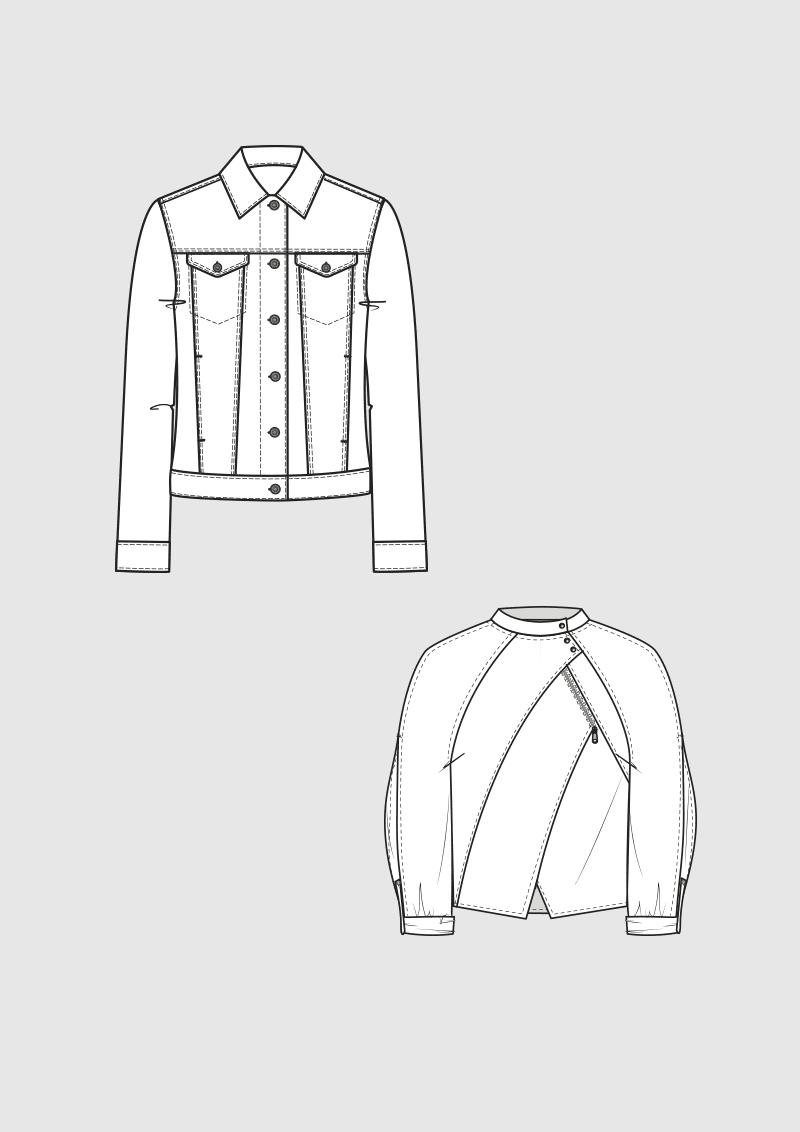 Product: Pattern Demin Jackets