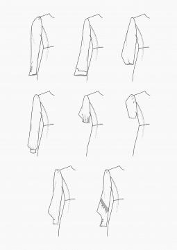 Product: PDF Download: Pattern-Making Statement-Sleeves